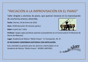 Clase improvisacion piano